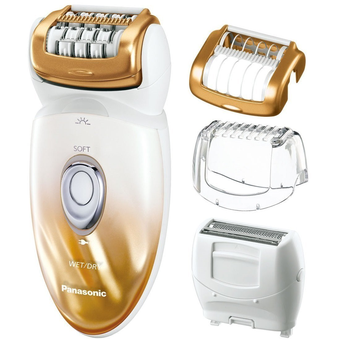Panasonic® Women's Ladies Wet and Dry Cordless Epilator Review